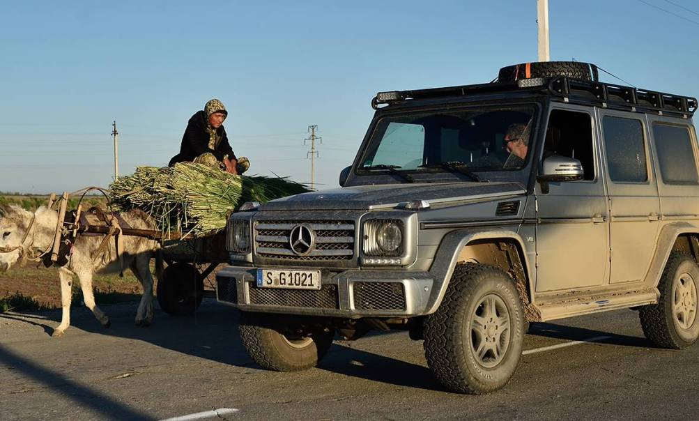 Extreme Adventure For The Mercedes Benz G Class With Mike