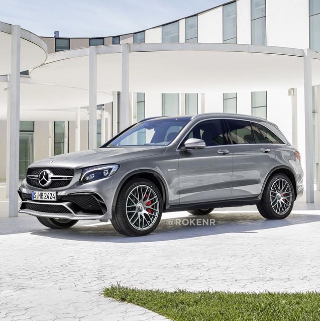 will the mercedes amg glc 63 look like this. Black Bedroom Furniture Sets. Home Design Ideas