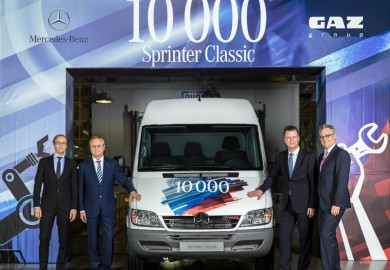 Mercedes-Benz Sprinter 10000 units GAZ plant