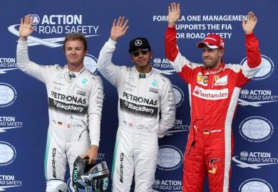 Mercedes F1 Austrian Grand Prix 2015