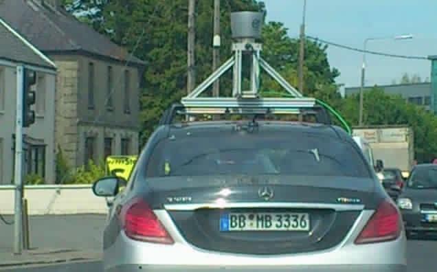 Mercedes-Benz S-Class with LIDAR