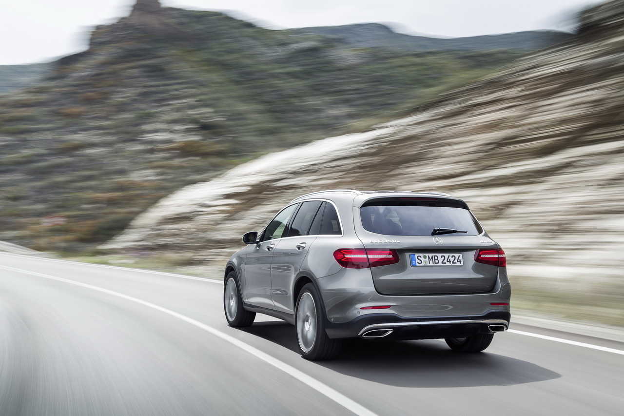 The new mercedes benz glc unveiled for Mercedes benz glc