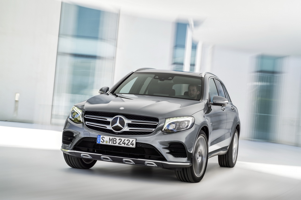 the new mercedes benz glc unveiled