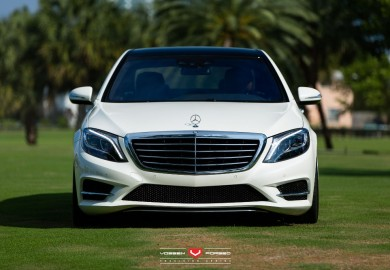 Mercedes-Benz S550 Given Vossen Wheels By RennTech