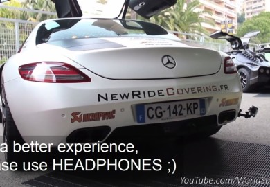 Hear The Roar Of An Akrapovic-Enhanced Mercedes-Benz SLS AMG