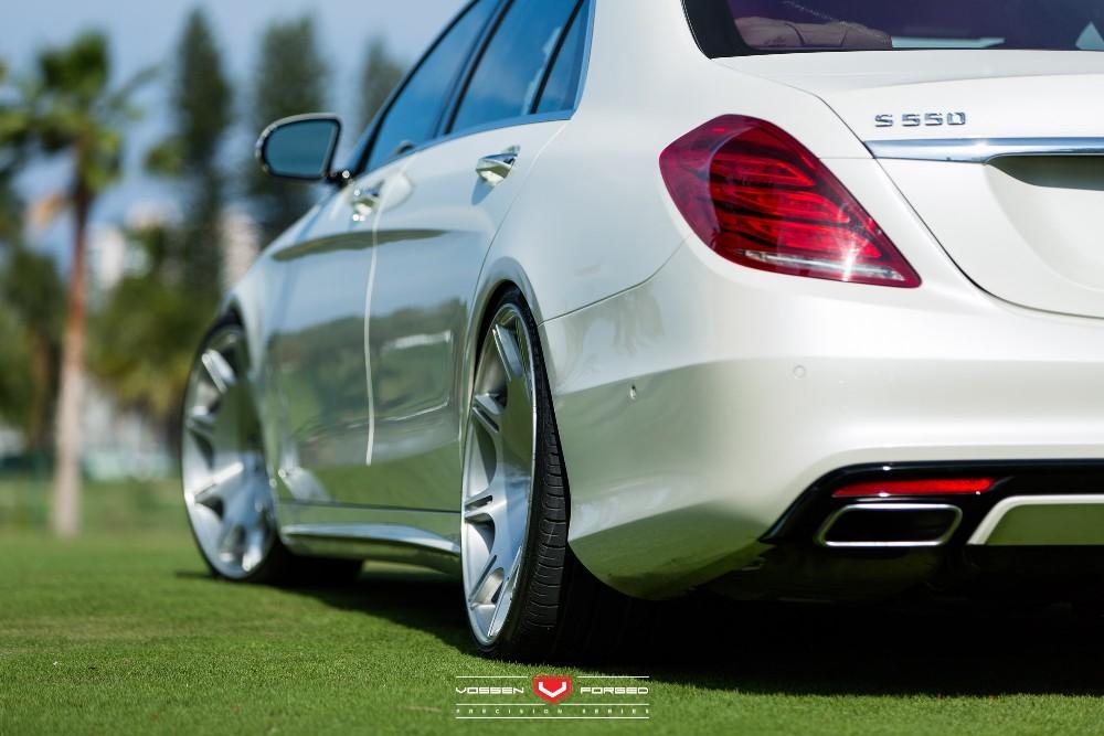 Mercedes-Benz S550 Given Vossen Wheels By RennTech - BenzInsider.com ...