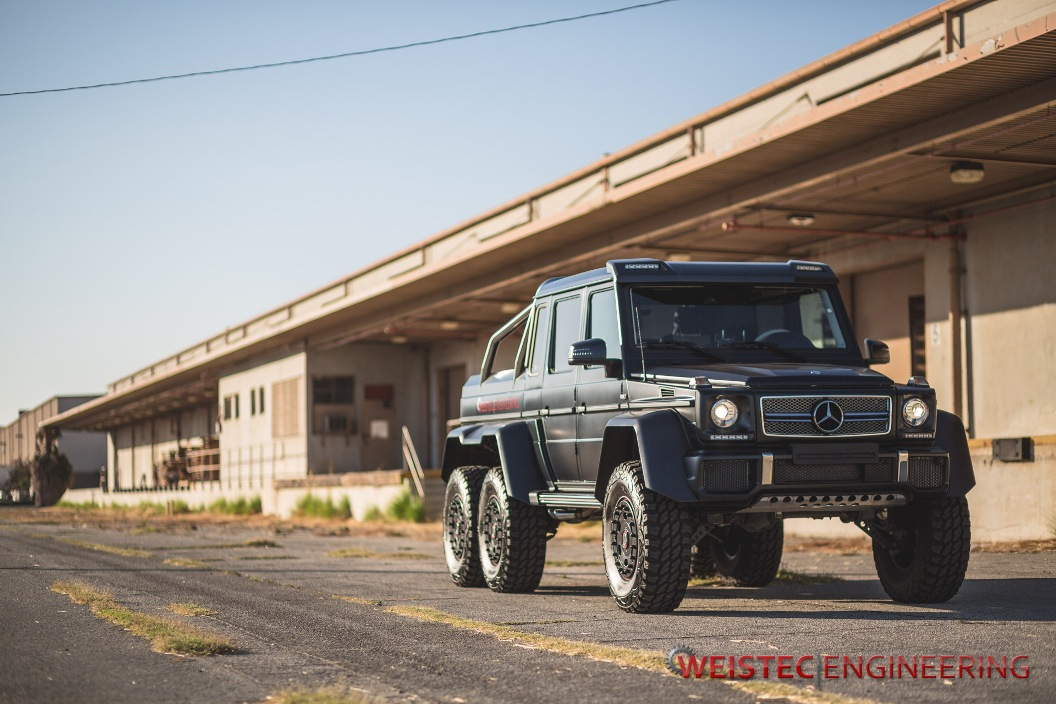 Detailed images of weistec engineering tuned mercedes benz g63 amg 6x6