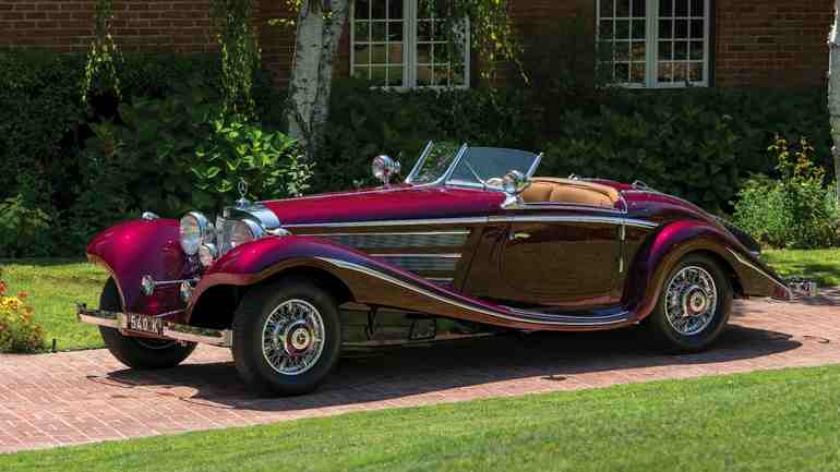 1938 Mercedes Benz 540k Special Roadster Is For Sale Benzinsider