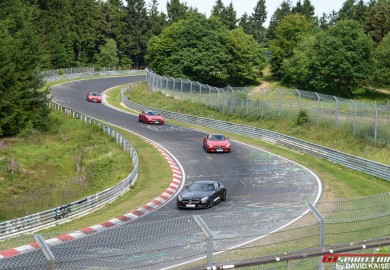 AMG Driving Academy Holds An Event At The Nurburgring