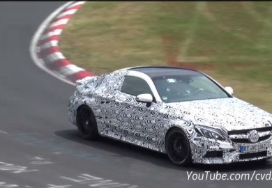 Mercedes-AMG C63 Coupe Spotted At The Ring