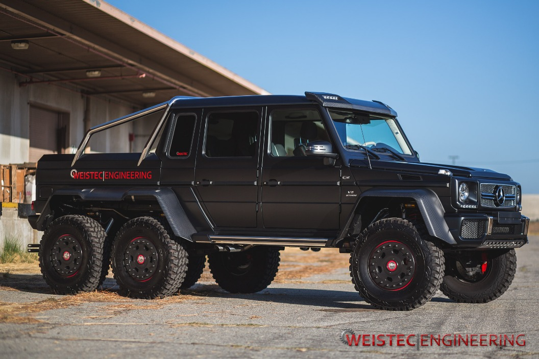 Detailed images of weistec engineering tuned mercedes benz for How much is a mercedes benz g63