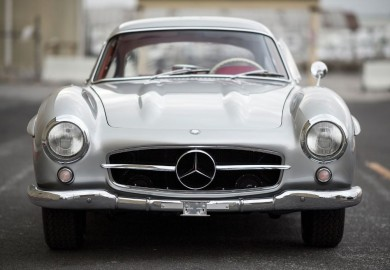 Rare -Benz 300SL Alloy Gullwing Set To be Auctioned