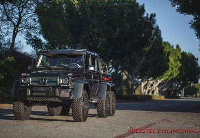 Detailed Images Of Weistec Engineering-Tuned Mercedes-Benz G63 AMG 6x6