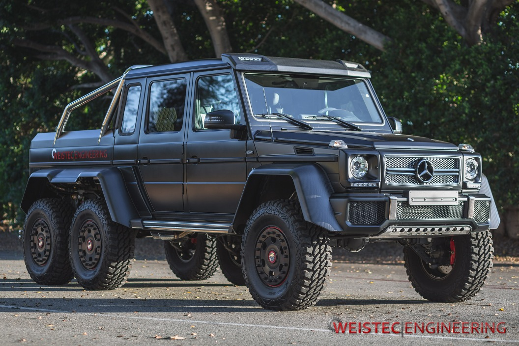 63 Power Wagon >> Detailed Images Of Weistec Engineering-Tuned Mercedes-Benz G63 AMG 6x6 - BenzInsider.com - A ...
