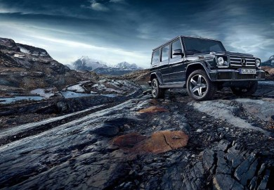 Photo Shoot Shows The Mercedes-Benz G63 AMG In Its Natural Habitat