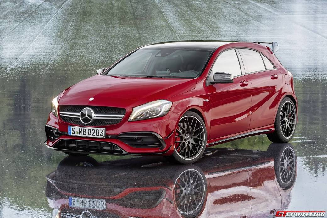 Mercedes Benz Gla 45 Amg And Cla 45 Amg To Receive Power Boost