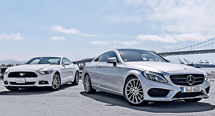 Are these the leaked photos of the 2016 mercedes benz c class coupe - Mercedes benz c class coupe 2015 ...