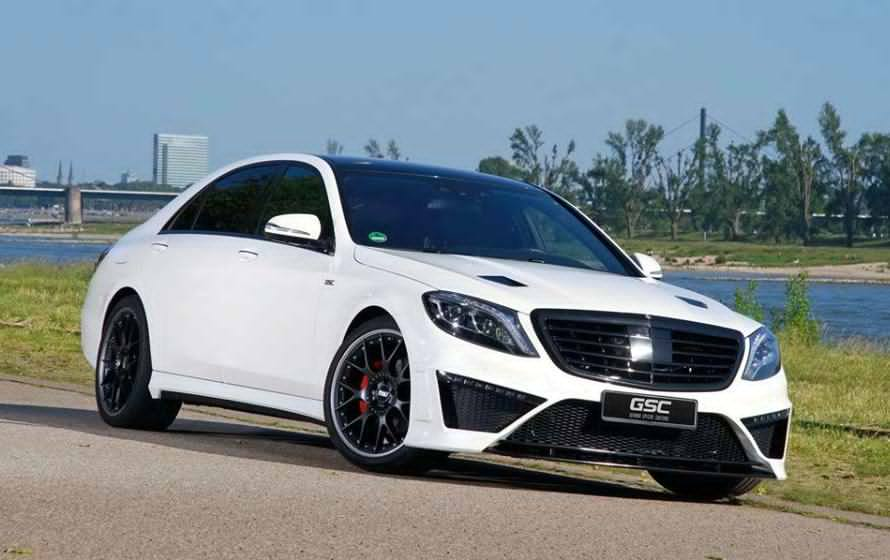 GSC Gave the Mercedes-Benz S-Class a New Look