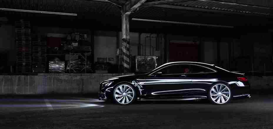 mercedes benz s class coupe gets a new wald body kit. Black Bedroom Furniture Sets. Home Design Ideas