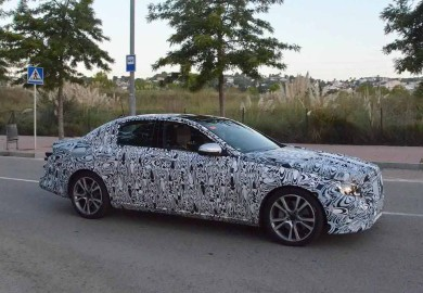 mercedes-benz e-class spy photo