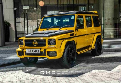 The DMC Mercedes-Benz G-Class G88 Edition. (Photo Source: WFC)