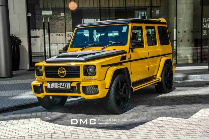 The DMC Mercedes-Benz G-Class G88 Edition. (Photo Source: WFC)