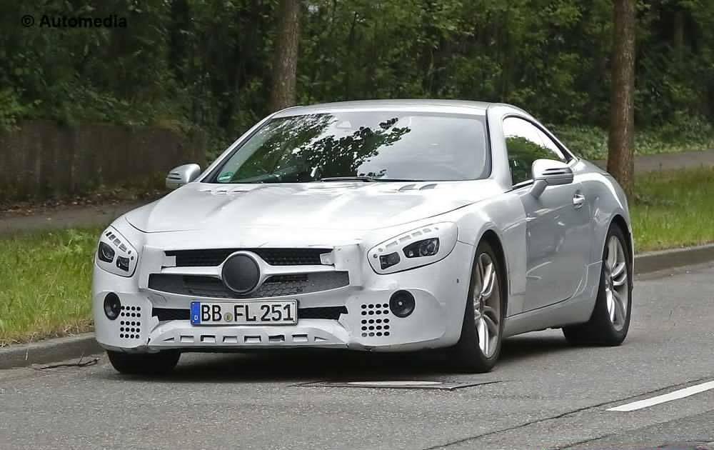Facelifted Mercedes Benz Sl Spy Photos Emerge