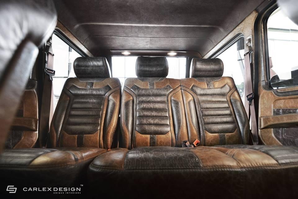 Mercedes Benz G Class Interior Given A Retro Look