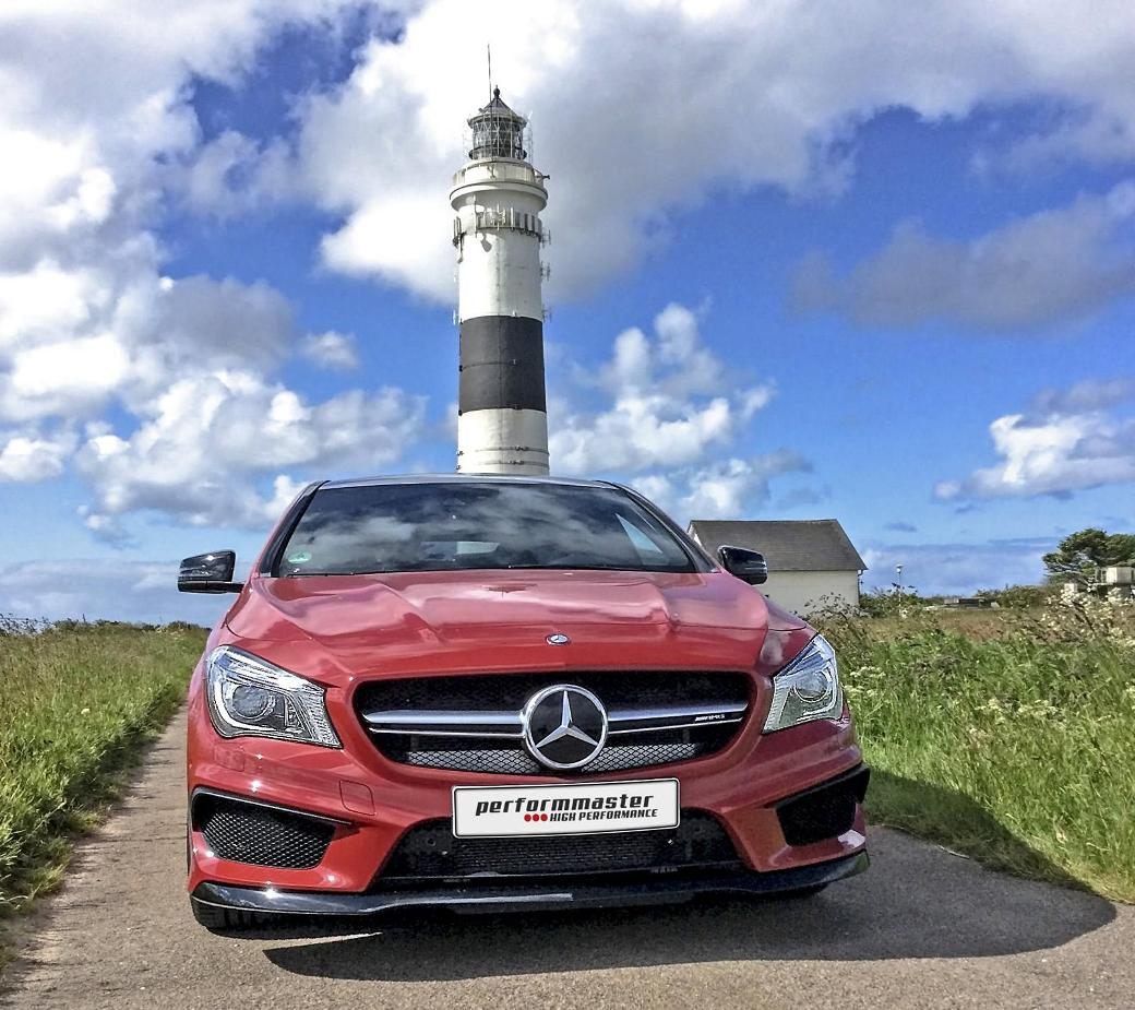 Performaster Boosts Power Of Mercedes-Benz CLA 45 AMG
