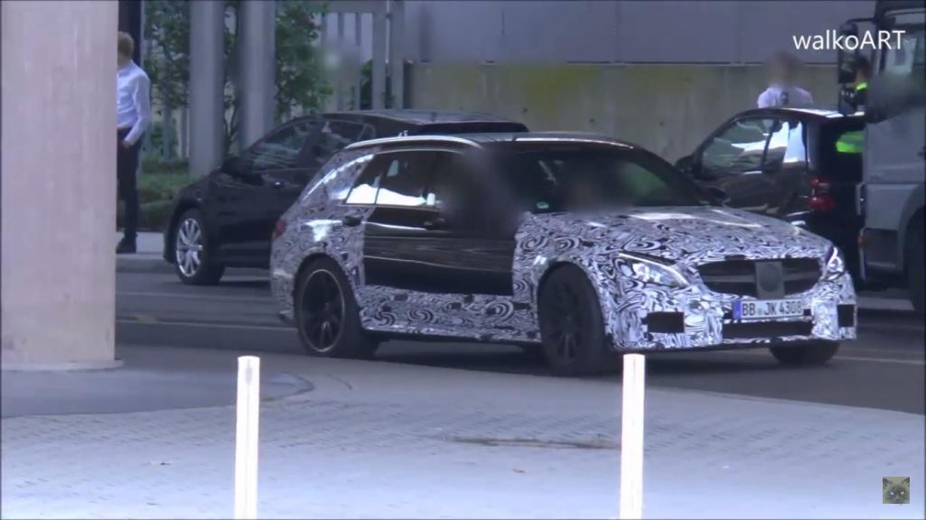 Appearance Of Mercedes-AMG C63 Estate Prototype Baffles Industry Watchers