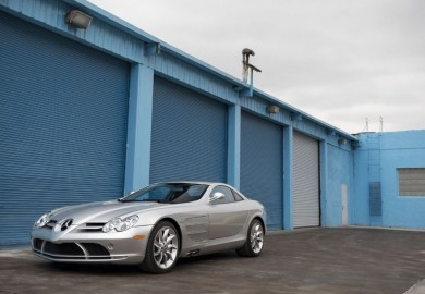 Silver 2005 Mercedes-Benz SLR McLaren Set To Be Auctioned