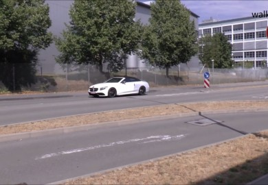 Mercedes-AMG S63 Cabriolet Caught On Video