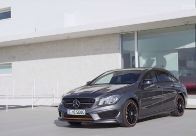 Video Shows First Look Of The Mercedes-Benz CLA Shooting Brake Facelift