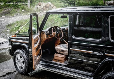 Mercedes-Benz G-Class Interior Given A Retro Look