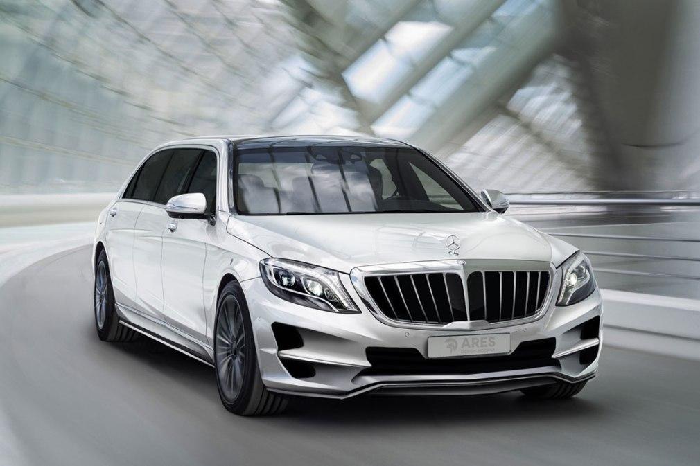 Mercedes Benz S Class Enhanced By Ares Performance Benzinsider Com A Mercedes Benz Fan Blog