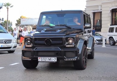 Brabus G63 700 Seen On The Streets Of Monaco