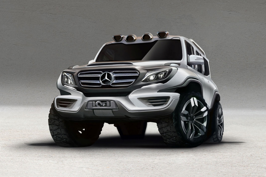 Ares Design Releases Rendering Of Future Mercedes Benz G