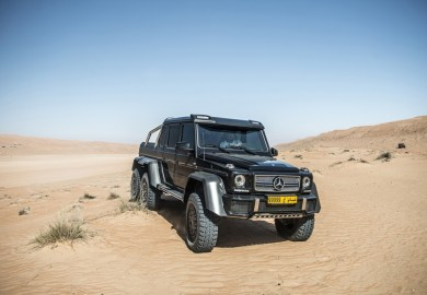 Spectacular Shots Of Mercedes-Benz G63 AMG 6x6 Shot By GF Williams