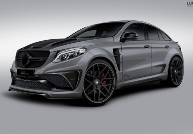 Lumma Design Teases Its Work On The Mercedes GLE Coupe
