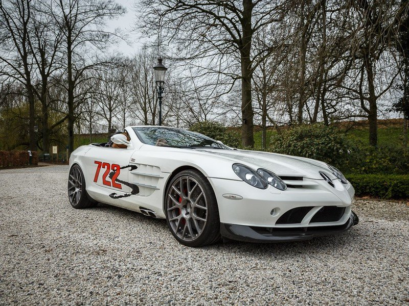Rare Mercedes-Benz SLR McLaren 722 S Roadster Up For Sale