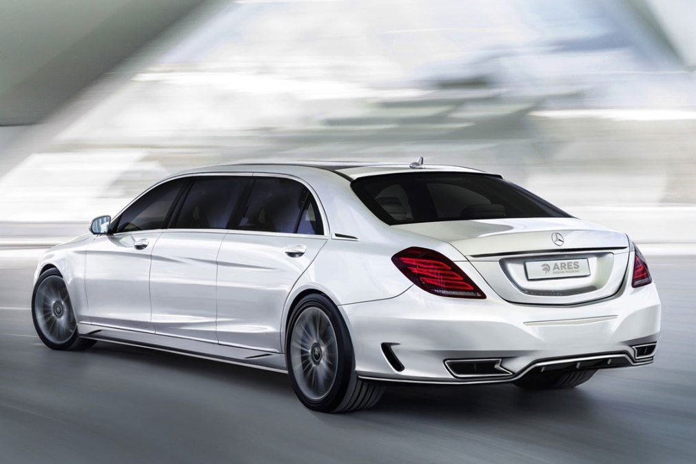 Mercedes benz s class enhanced by ares performance for Performance mercedes benz