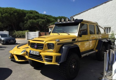 Mansory Impresses With Its Tuned Mercedes-Benz G63 AMG 6x6