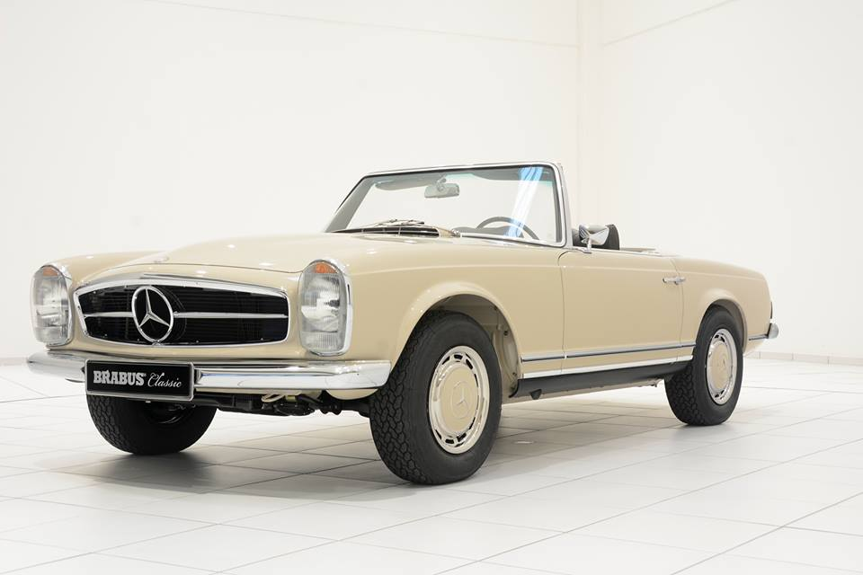 Check out this restored mercedes benz sl pagoda for Mercedes benz 280sl pagoda