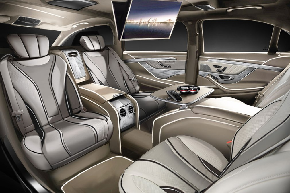 Mercedes-Benz S-Class Enhanced By Ares Performance ...
