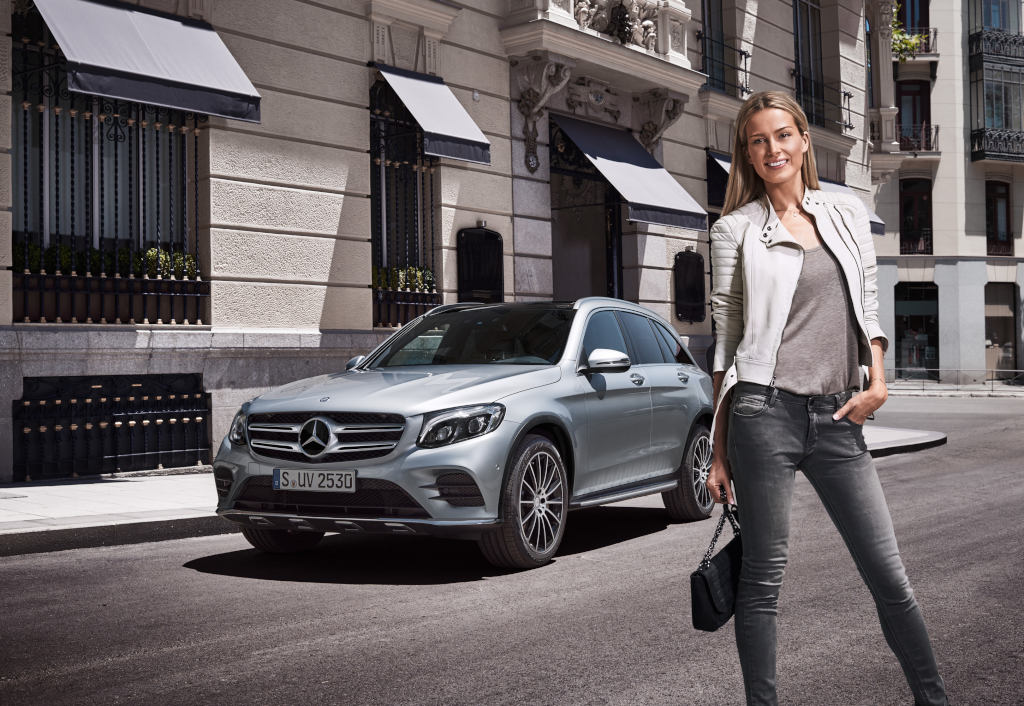 Mercedes benz launches new suv marketing campaign powered for Mercedes benz suv range