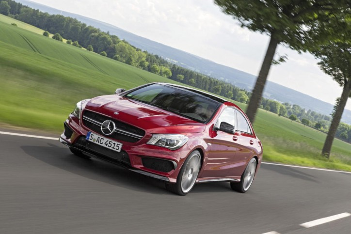 Mercedes-Benz Cars sells over a million cars from January through July 2015