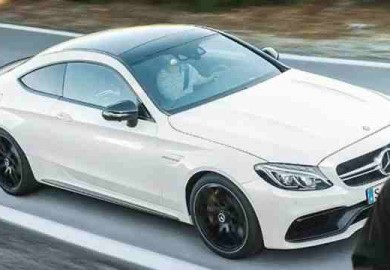 mercedes-amg c63 coupe 1