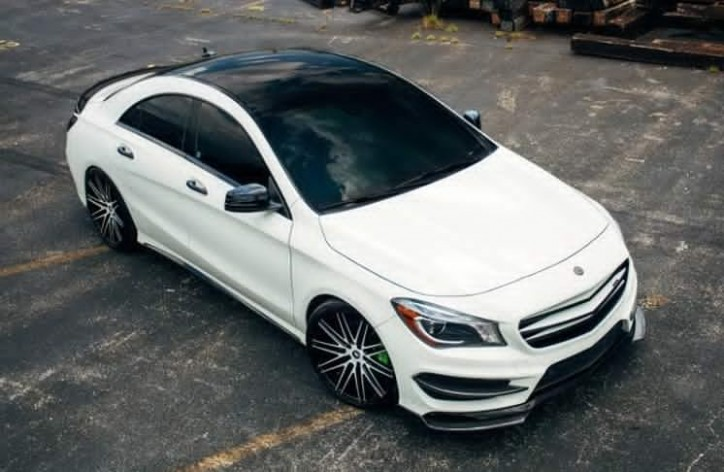 mercedes benz cla 250 gets mc customs body kit. Black Bedroom Furniture Sets. Home Design Ideas
