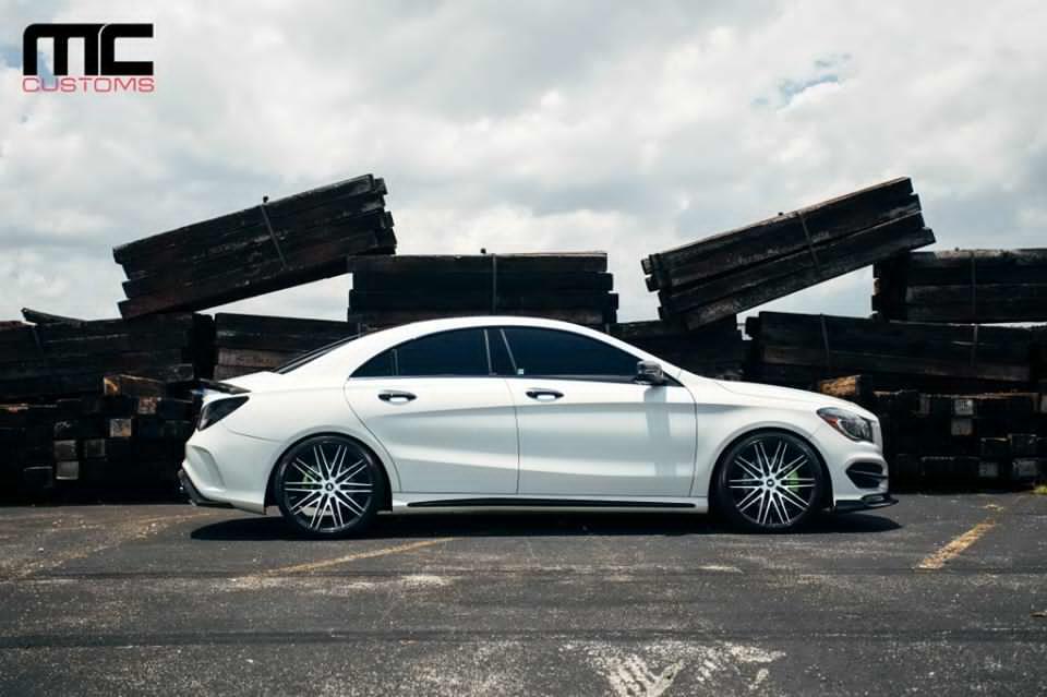 Mercedes-Benz CLA 250 Gets MC Customs Body Kit