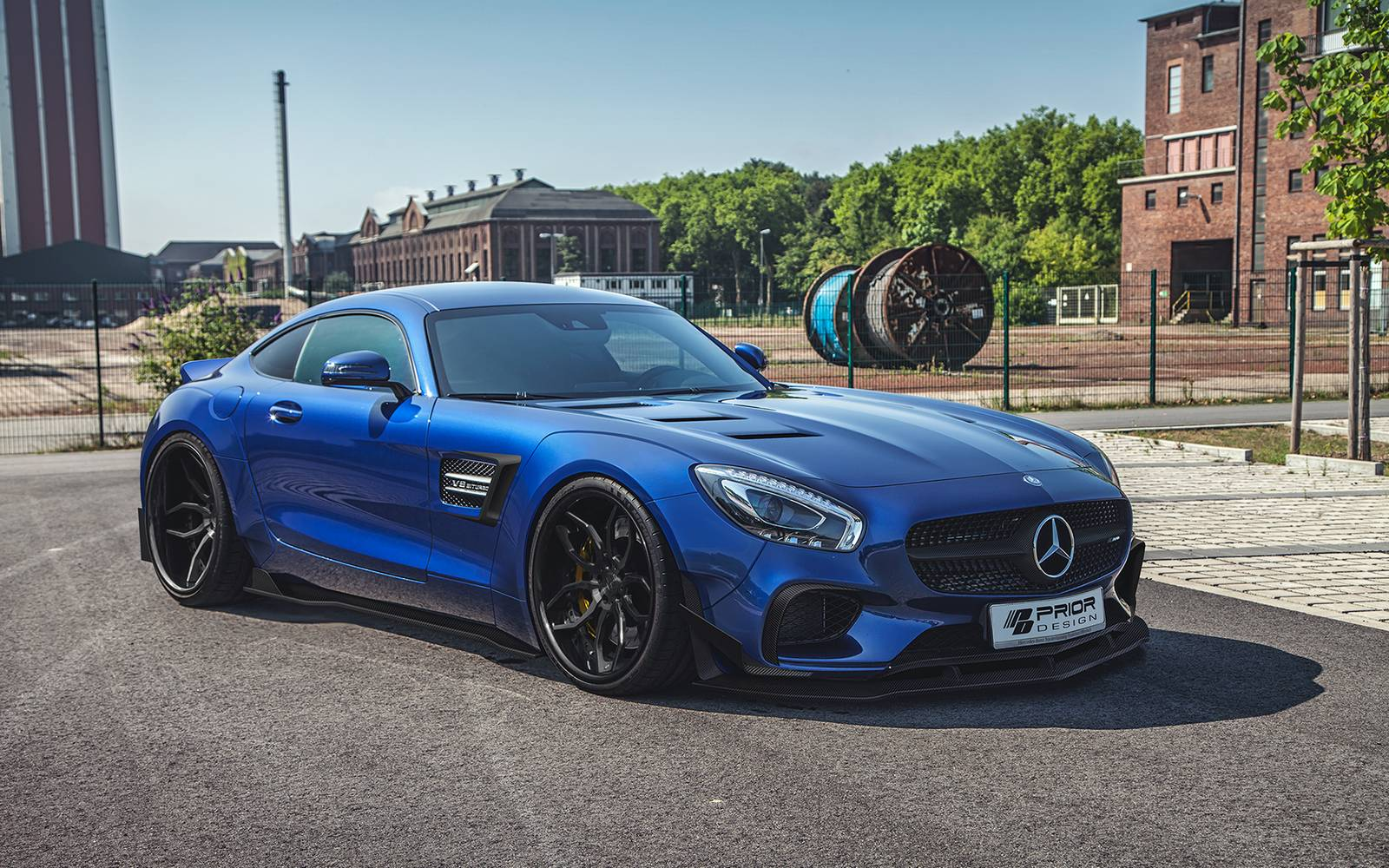 prior design reveals mercedes amg gt widebody kit. Black Bedroom Furniture Sets. Home Design Ideas
